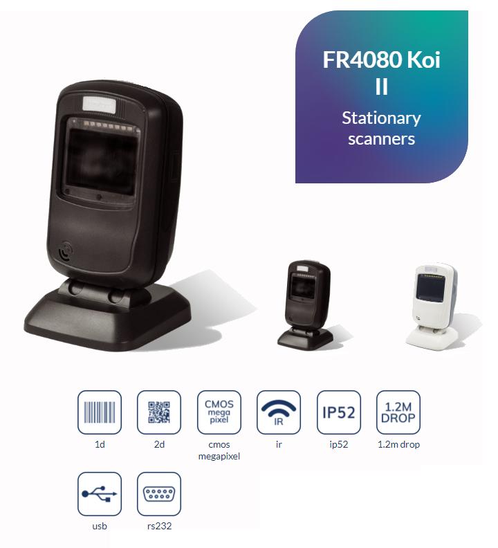 Newland FR4080 Koi II первый презентационный сканер, оснащенный  мегапиксельной камерой -